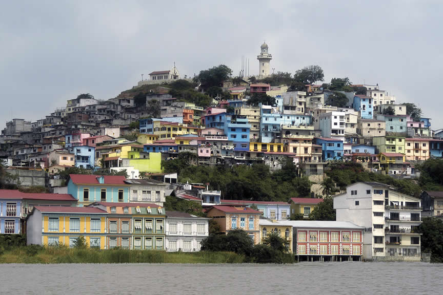 Barrio Las Pe�as Guayaquil